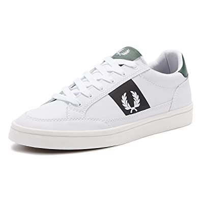 Fred Perry Deuce Uomo BiancoMarinaIvy Cuoio Sneaker