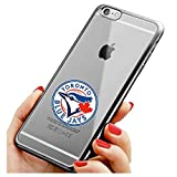 Toronto Blue Jays iPhone 6/6s Case,Electroplate Slim Fit Soft TPU Back Cover for iPhone 6s and iPhone 6 Silver