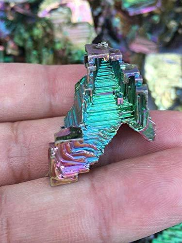 Rainbow Titanium Bismuth Specimen Mineral Gemstone Crystal Quartz Decor Gifts UK