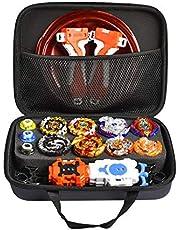 Maliyaw Traje Gyro, Battle Tops Case Toy Set para niños, Stadium Burst Launcher Battle Set - Embalaje de Caja de Almacenamiento para organizar