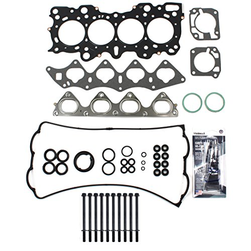 (CH616T1HB MLS Cylinder Head Gasket Set and Head Bolt Kit for VTEC Acura Integra 1.8L GS-R TYPE-R B18C B18C1 B18C5 Engine)