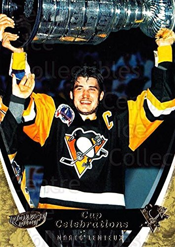 (CI) Mario Lemieux, Stanley Cup Hockey Card 2006-07 UD Power Play Cup Celebrations 6 Mario Lemieux, Stanley Cup