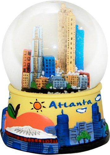 Atlanta Collectible LARGE Snow Globe souvenir featuring the Atlanta Skyline