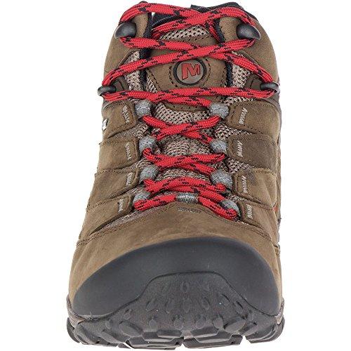 Boulder pie Gore 7 de para impermeables caminatas Tex a andar Botas Merrell Mens Chameleon medias qtxEnw66Rz