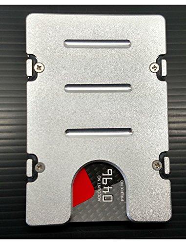 HMC Billet RFID Protection Credit Card Holder Standard Aluminum Wallet , (Standard Billet)