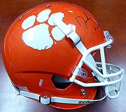 Image Unavailable. Image not available for. Color  DeShaun Watson Signed  Clemson Tigers ... 7553e0015