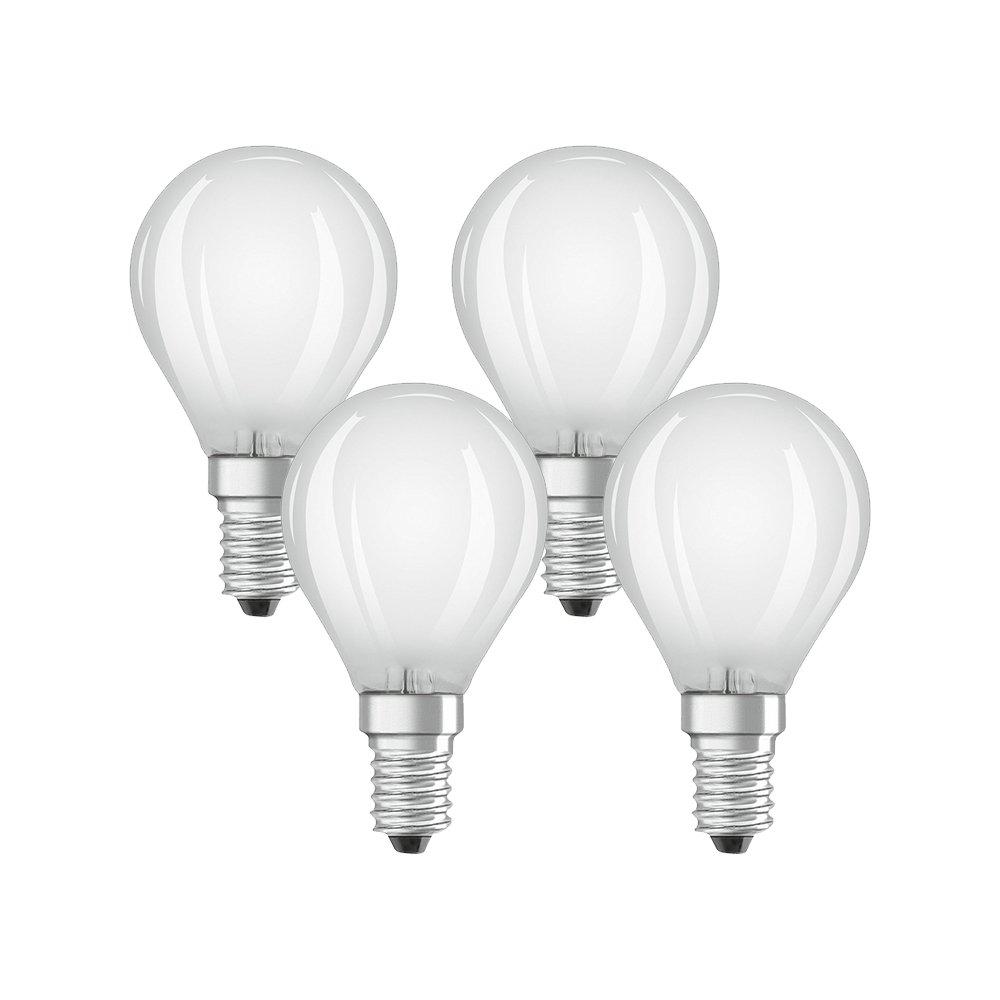 Osram 042988 Bombilla LED E14, 4 W, Blanco 4 Unidades: Amazon.es: Iluminación