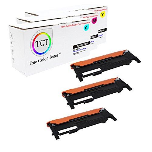 True Color Toner 3-Pack CLP-315 310 CLT-409S Premium Compatible Toner Cartridge Replacement for Samsung CLP-315W 310N, CLX-3170 3175 3175FN Printers (Cyan, Magenta, Yellow)