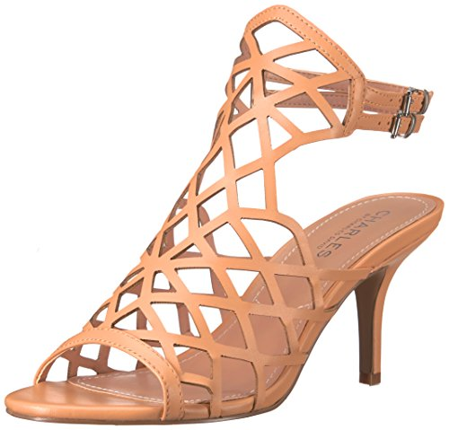 Charles by Charles David Womens nadya Dress Sandal Nude BSWT8