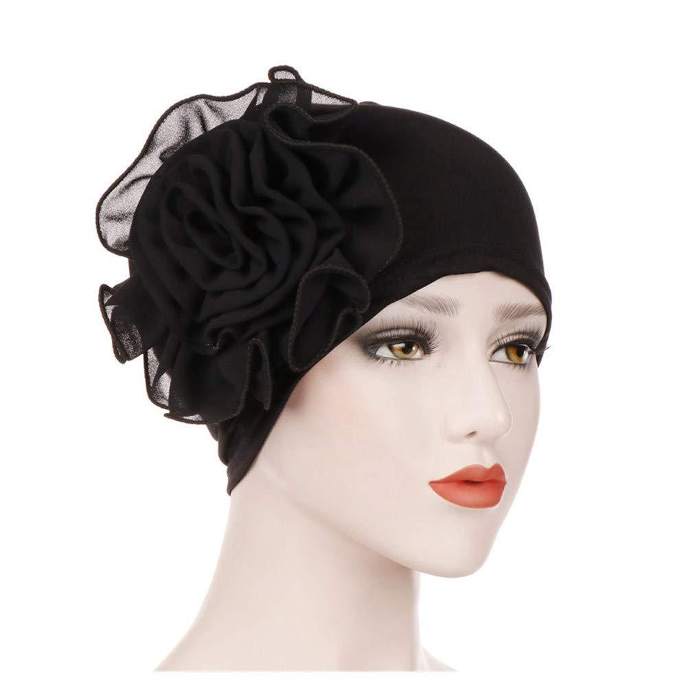 callm Women India Hat Fashion Muslim Ruffle Cancer Chemo Beanie Turban Wrap Cap