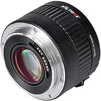 Viltrox C-AF 2x Magnification Teleconverter Extender Auto Focus Mount Lens for Canon EOS Ef Lens 5d Ii 7d 6d T5i T4i T3i 5d Ii 7d 6d T5i T4i T3i 1200d 760d 750d