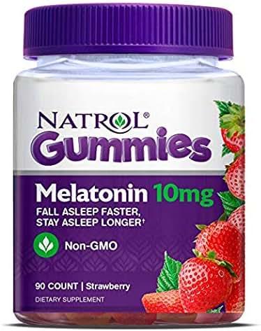 Natrol Melatonin 10mg Gummy, 90 Count