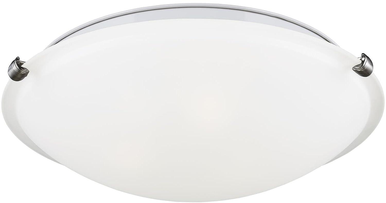 Sea Gull Lighting 7643593S-962 Large LED Ceiling Flush Mount Brushed Nickel