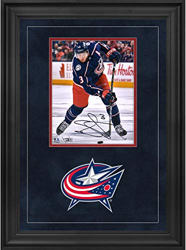 Seth Jones Columbus Blue Jackets Deluxe Framed Autographed 8