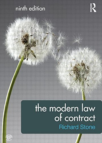 The Modern Law of Contract (Volume 3)