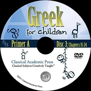 Greek for Children, Primer A DVD