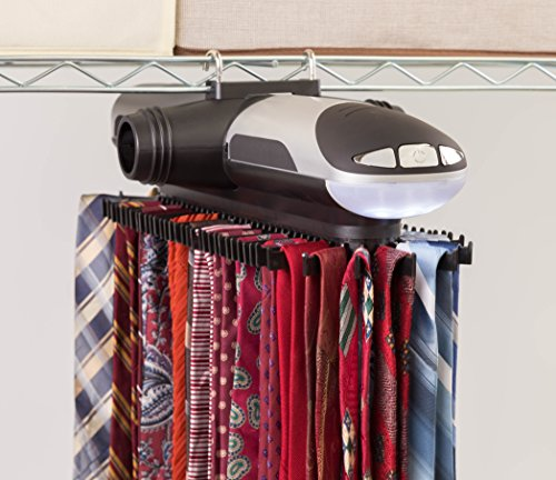Closetmate Motorized Tie Rack Battery Operated Electric