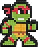 PDP Pixel Pals Teenage Mutant Ninja Turtles Raphael Collectible Lighted Figure, 878-037-NA-RAPHAEL