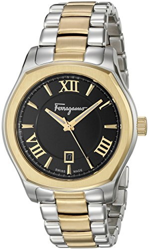 Salvatore-Ferragamo-Mens-FQ1950015-Lungarno-Two-Tone-Stainless-Steel-Watch