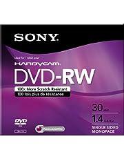Sony 8cm DVD-RW with Hangtab (3 Pack)