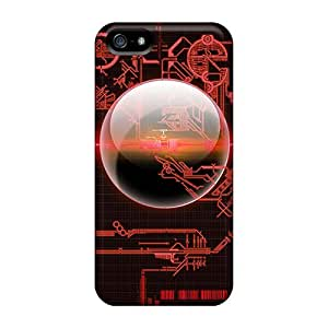 For Ipod Touch 5 Phone Case Cover Circuit Case - Eco-friendly Packaging