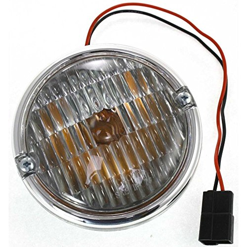 Diften 168-C4795-X01 - New Parking Light Corner Side Marker Park Lamp Driver or Passenger RH LH CJ7 (Cj7 Corner)