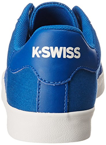 Choclo Azul Urbana para LP Belmont Tenis Clásico Blanco Mujer Azul Clásico K Swiss IARg11