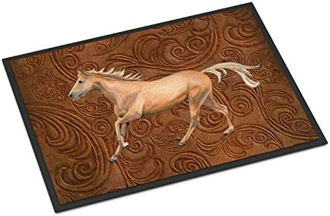 Caroline s Treasures SB3060JMAT Horse Indoor or Outdoor Mat 24×36, 24H X 36W, Multicolor
