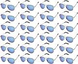 AVIATOR SUNGLASSES - Classic & Stylish Retro Sunglasses Bulk Wholesale (24 Pack)