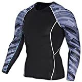 Best Hanes Compression Shirts For Men - GARQEN Mens Fitness T Shirts 3D Teen Wolf Review