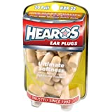 Hearos Ultimate Softness Series Foam Earplugs, 20-Pair