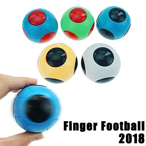 Longteck HOT Random Mini Finger Football Game Hand Spinner EDC Focus Disease Anti Stress Toy Gyro Toys