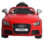 Mera Toy Shop B Wild Audi Tt Rs Plus Electric Motor Car, Red