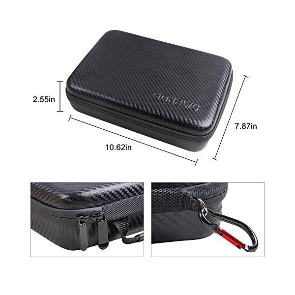 Surewo, custodia impermeabile per il trasporto, custodia da viaggio compatibile con DJI Osmo Pocket (media) 5 spesavip