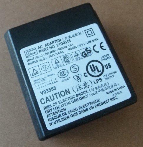 Price comparison product image Skynet LMK-U15A 30V 0.5A AC Adapter for Lexmark P315 X2250 X2350 X3350 X5250 X5270 Z816 series Printers