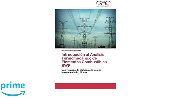 Introducción al Análisis Termomecánico de Elementos Combustibles BWR: Una vista rápida al desarrollo de una herramienta de cálculo (Spanish Edition): Héctor ...
