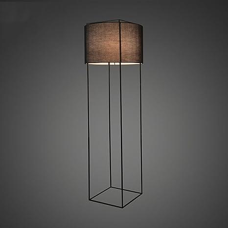 MMM-HC Lámparas de pie American Village Industrial Hierro ...