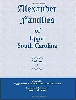 Alexander Families of Upper South Carolina