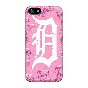 First-class Cases Covers For Iphone 5/5s Dual Protection Covers Detroit Tigers