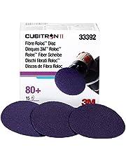 """3M 33392 Cubitron II 3"""" Fibre Roloc Disc - 15 Discs/Box"""
