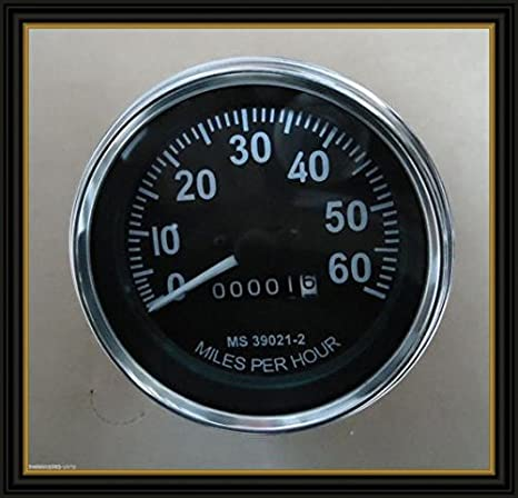 Amazon com: Willys Jeeps Speedometer Fits in M Series MB GPW CJ2A