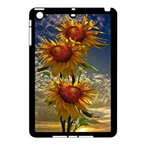 LSQDIY(R) sunflower iPad Mini Phone Case, Cheap iPad Mini Hard Back Case sunflower