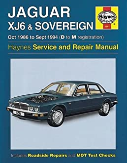 jaguar xj6 sovereign owners workshop manual anon 9781785213601 rh amazon com 2004 Jaguar XJ6 1996 Jaguar XJ6