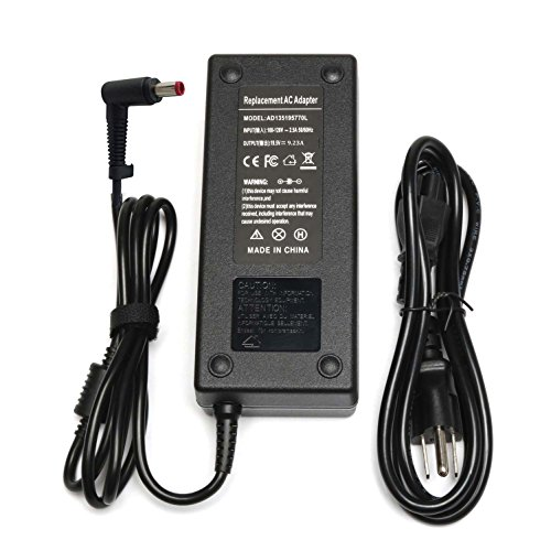 135W 7.1A 19V Emaks AC Adapter/Battery Charger for Acer Nitro 5 Gaming Laptop AN515-41 AN515-41-F6UH 11CP F5RL;AN515-51 AN515-51-55WL AN515-51-53W5 AN515-51-56U0;A515-53-55G9 53-52FA