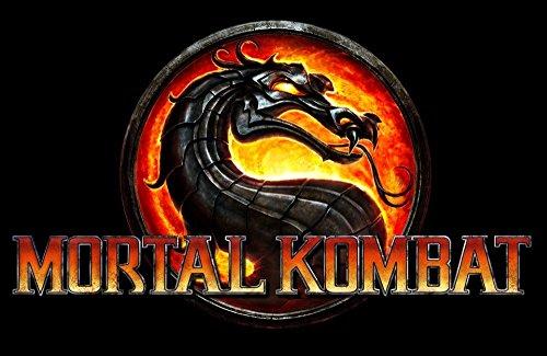 Tomorrow sunny 24X40 INCH / ART SILK POSTER / Mortal kombat 9 Game Poster family silk wall / dragon in black (Mortal Kombat Cartoons)
