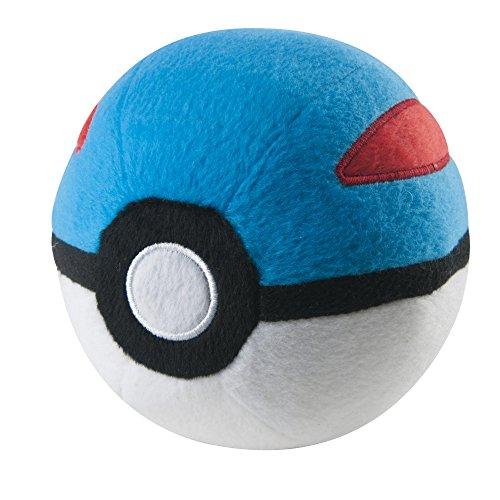 Amazon Com Pokemon Poke Ball Plush Poke Ball Toys Games