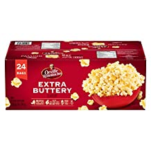 Orville Redenbacher's Microwavable Extra Buttery 24 Pack, 2.38 Kilogram