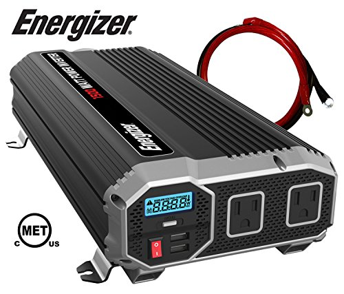 ENERGIZER Power Inverter converts battery