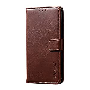 HTC Desire 526 Case, Retro Wallet Flip Leather Phone Case For HTC Desire 526 526G+ 526G 326 326G 4.7 inch (Darkbrown)