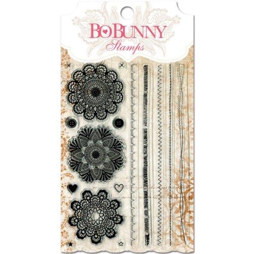Bo Bunny Stitches Stamps, Multi ()